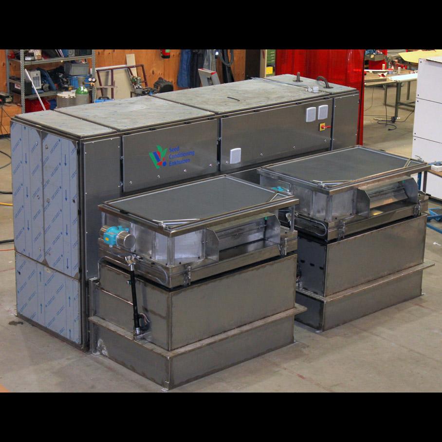 zaaddroger dubbel compartiment DR2-002-2 foto1
